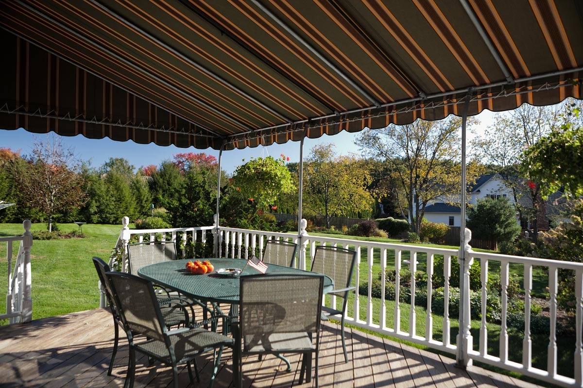 Traditional Stationary Patio Awning