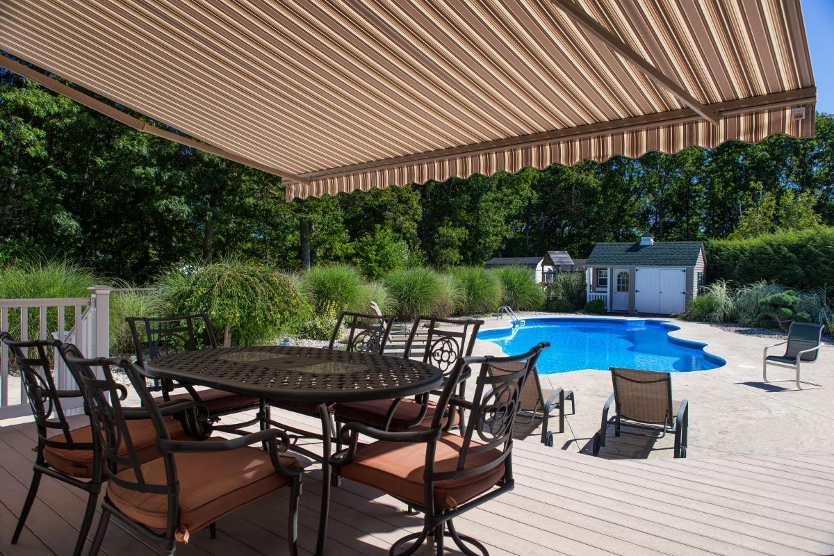 Eclipse Retractable Patio Awning