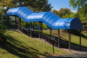 Arch Walkway Canopy - Awning Place